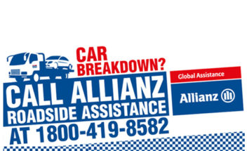 Allianz Roadside Assistance Uber Tie-up